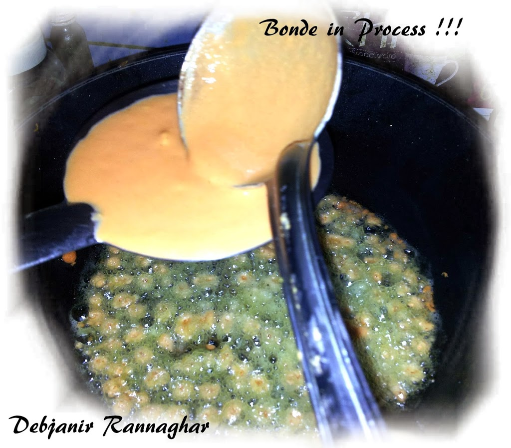 %Making of Boondi