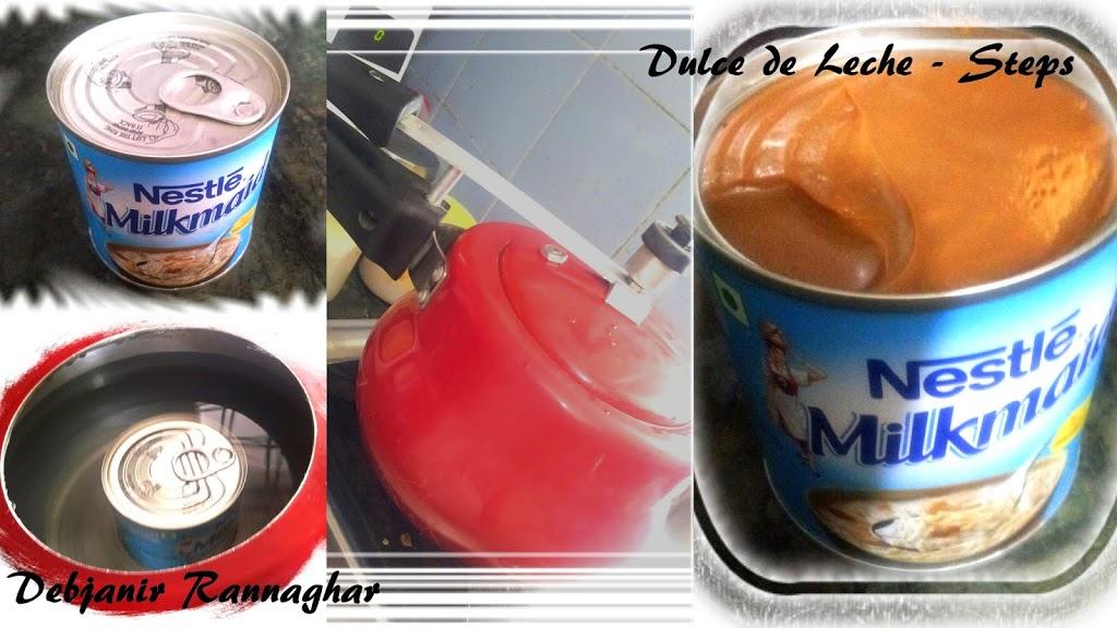%How to make Dulce de Leche in a pressure cooker using condensed milk