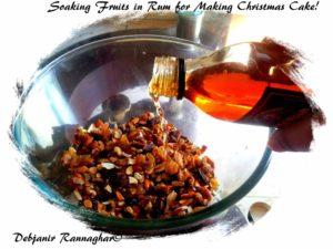 how to make rum soaked fruitcake