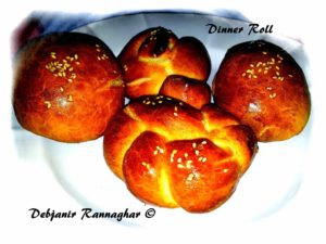 %Homemade Dinner Roll Recipe