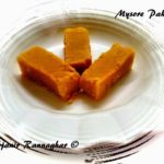 %Mysore Pak Recipe Indian Sweet