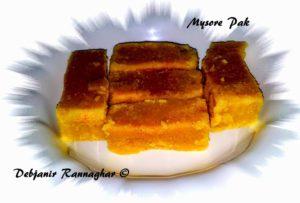 %Mysore Pak Recipe