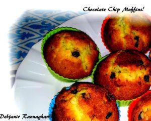 %Indian Choco Chip Muffins Recipe