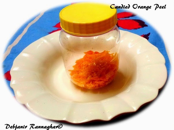 %How to make candied Orange Peel