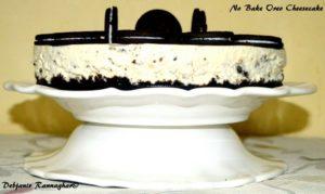 No Bake Oreo Cheesecake 1