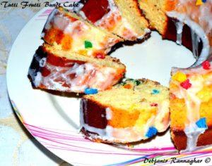 Tutti Frutti Bundt Cake 1
