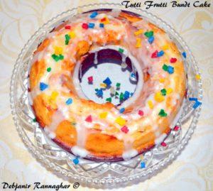 Tutti Frutti Bundt Cake 8