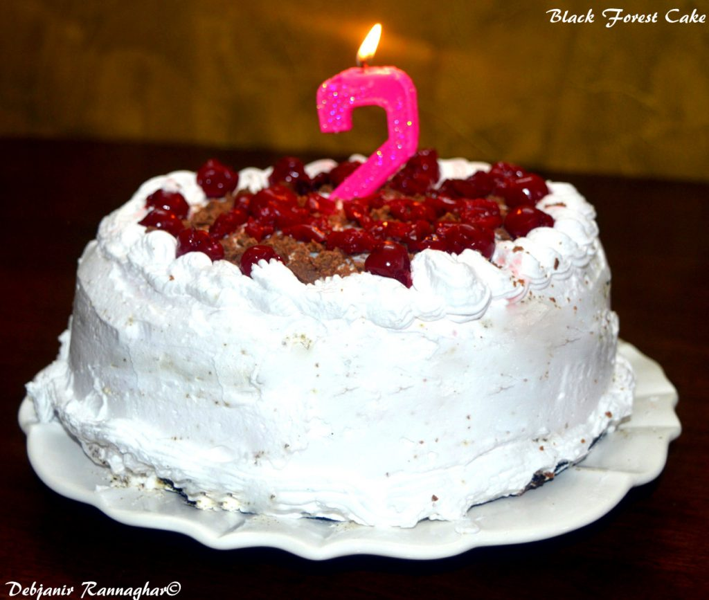 %Black Forest Cake recipe Indian