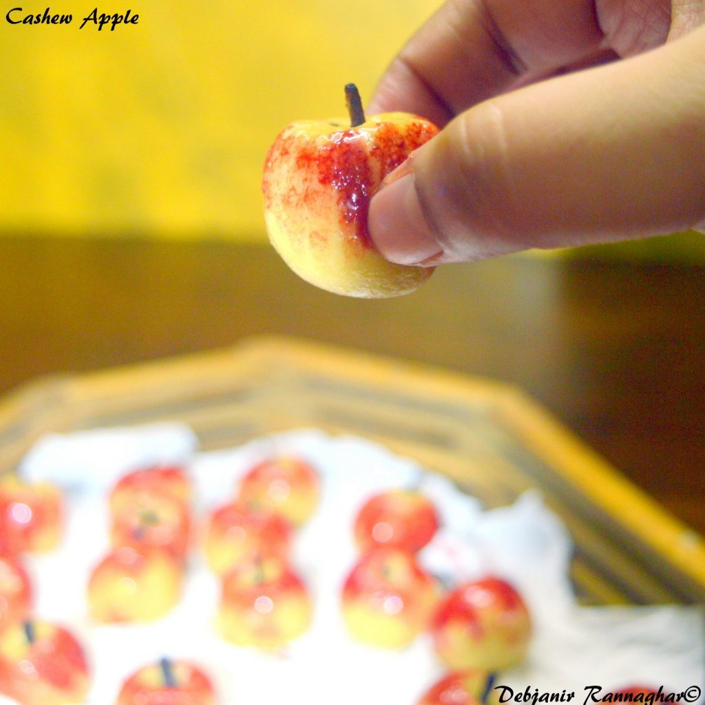 """Cashew Apple to start """"A for APPLE"""" and so on…."""
