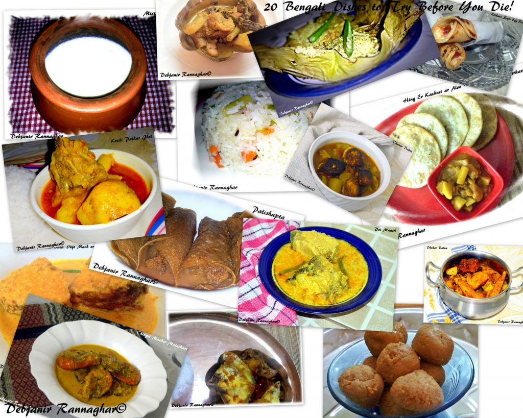 20 Bengali Dishes to Try Before You Die | 20 Quintessential Bengali