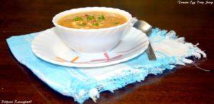 Tomato Egg drop Soup (1)