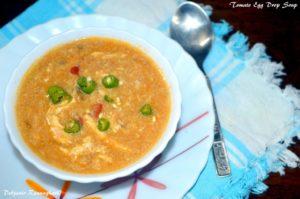 Tomato Egg drop Soup (5)