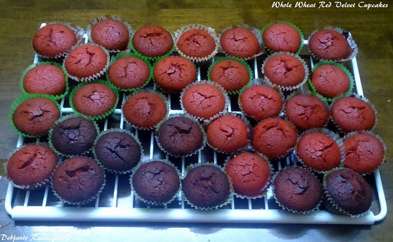 Making Red Velvet Brownies From Cake Mix