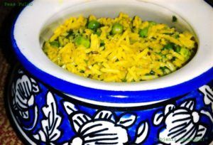 Easy Peas Pulao Recipe