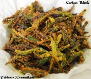 %Kurkuri Bhindi