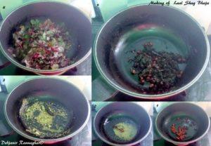 %Lal_Shag_Bhaja_making%Debjanir_Rannaghar