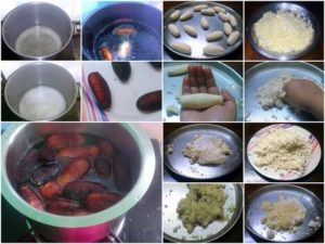 Making of Lyangcha Indian Sweet