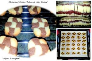 Baking Checkerboard Cookies