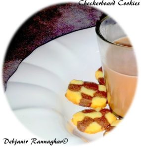 %Checkerboard Cookies Recipe step by step