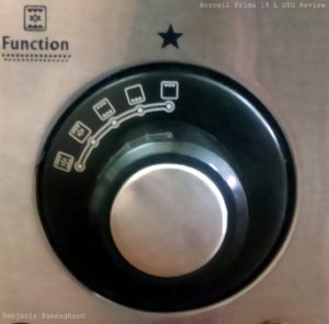 %Function Knob Borosil Prima 19 L OTG Review