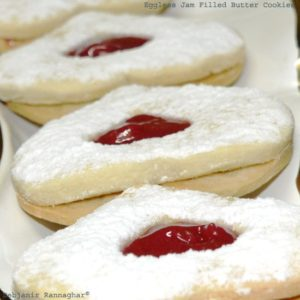 %Jam Filled Butter Cookies Recipe