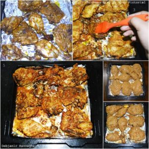 Step by Step Making of Chicken Tandoori part 2