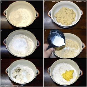 Making of Nankhatai Dough Step by Step