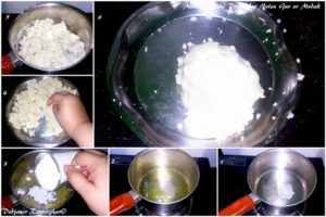 Making of the Outer layer of Modak