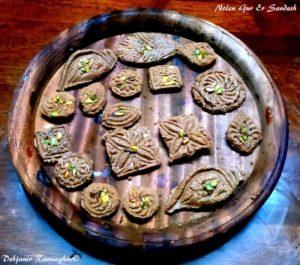 Easy Nolen Gur er Sandesh recipe