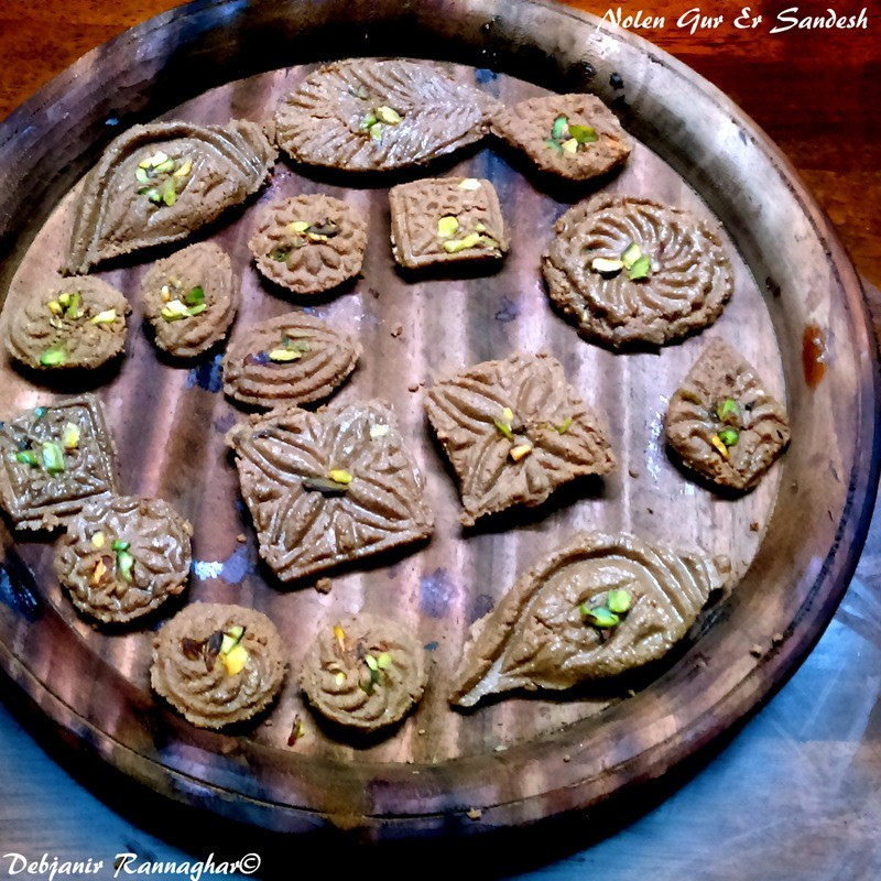 Nolen Gurer Sandesh Recipe