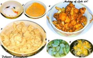 %Step by Step Gobi 65 recipe part 1