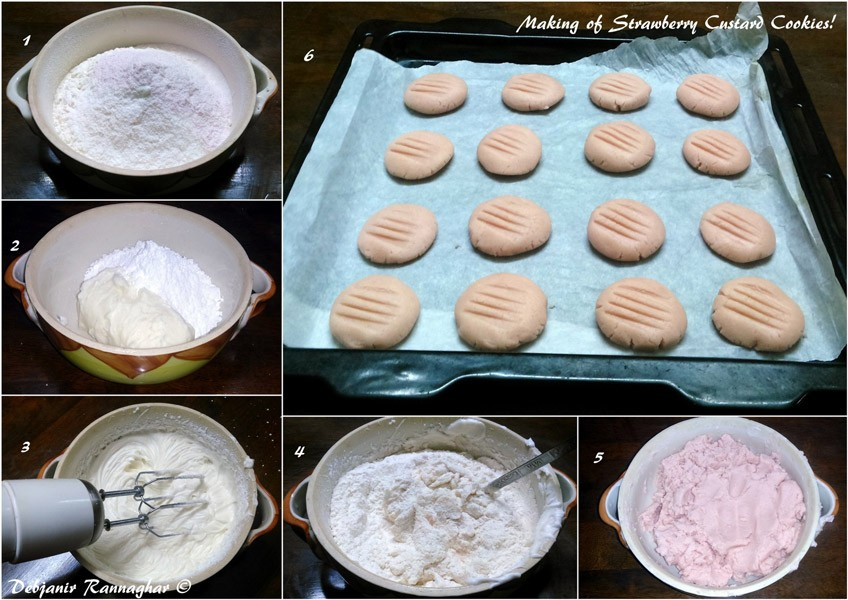 %How to make Strawberry Custard Cookies