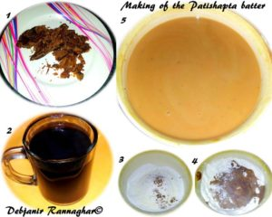 %Step by step Making of the Dough for Patishapta