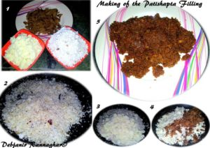 %step by step Making of the Stuffing for Patishapta