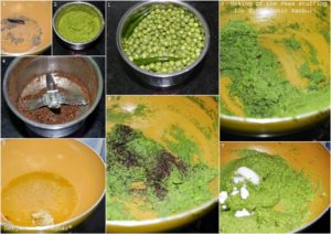 %how to make the stuffing of Koraishutir Kochuri
