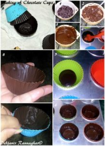 %Making of Chocolate Cups Recipe