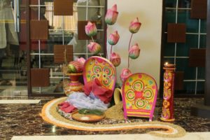 Decor for the Bengali Food Festival at The Fern Residency, Kolkata - 1