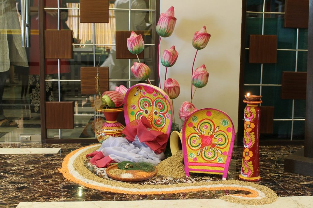 The fern residency hotel brings special menu for bengali for Art decoration