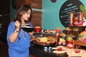 Suchandra Vaaniya (Tollywood actress) at the Bengali Food Festival at The Fern Residency, Kolkata - 6