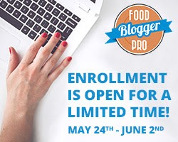 Food Blogger pro course