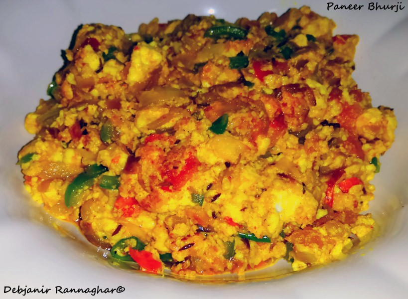 %Paneer Bhurji Recipe