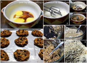 %Step by step Making of Oatmeal and Chocolate Chip Cookies
