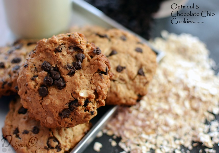 Back to the game with Oatmeal and Chocolate Chip Cookies!