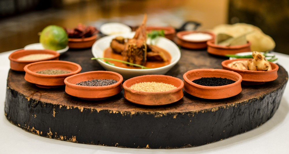 Oberoi Grand Pujo food 3