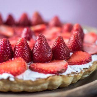 %Strawberry Tart