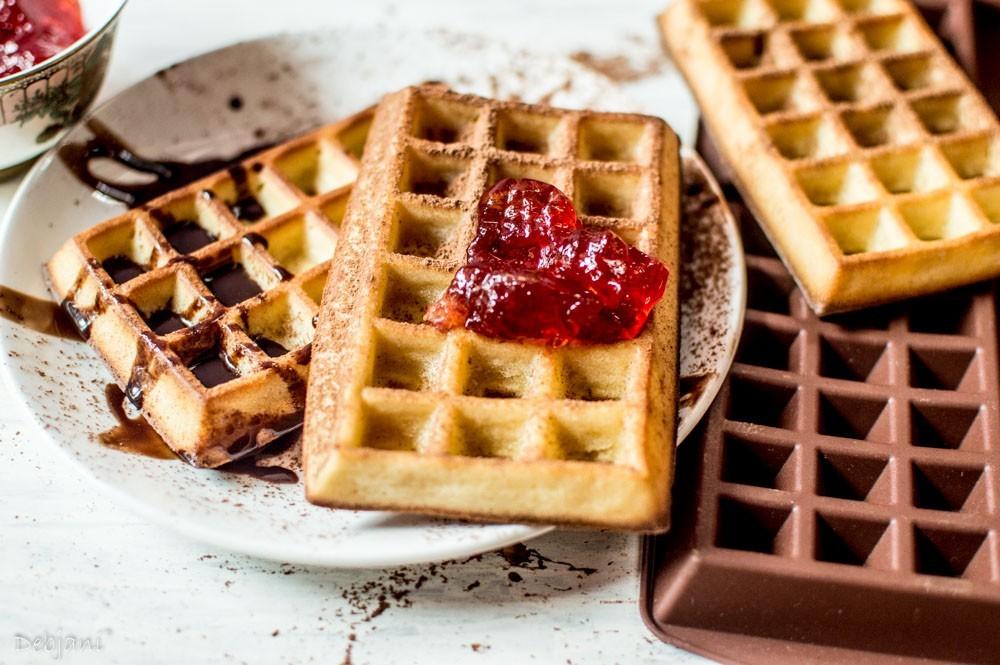 %Waffle Recipe