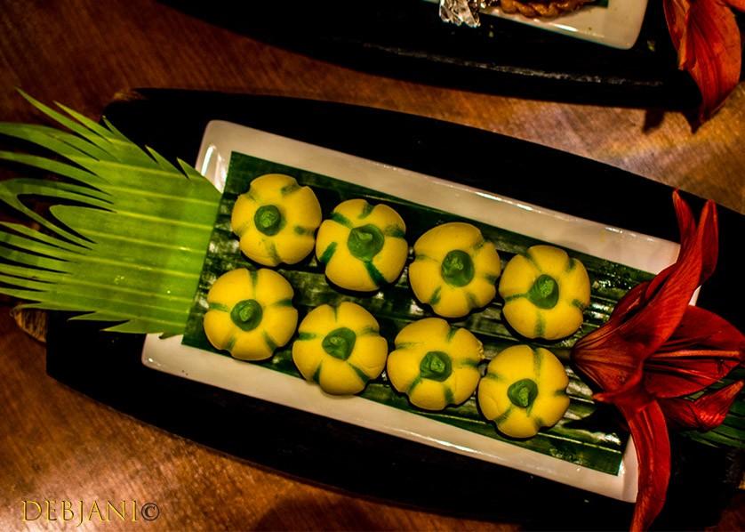 %Oberoi Grand Durgapuja food