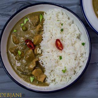 %Thai Green Chicken Curry