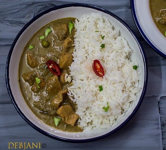 Cook-off At Baan Thai & Recipe Of Thai Green Chicken Curry