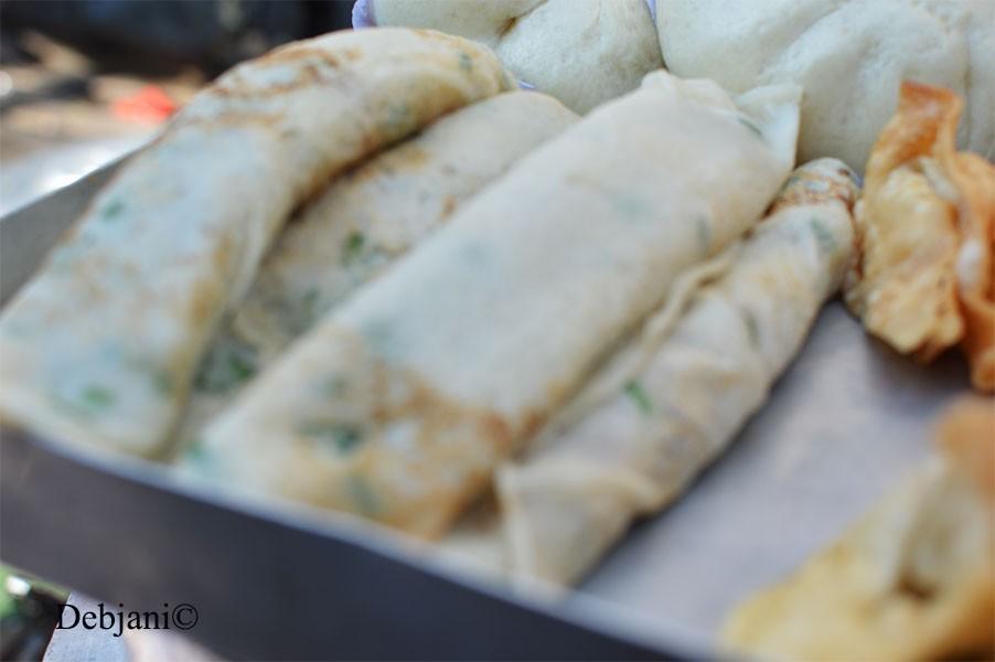 %Chinese Breakfast in Kolkata